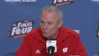 Championship Preview News Conference: Wisconsin