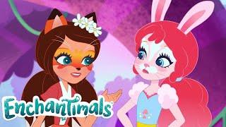 Enchantimals Deutsch | 💜LUSTIGE KURZGESCHICHTEN: ZUSAMMENSTELLUNG 💜| Cartoons für kinder