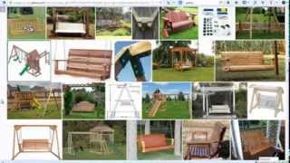 Amazing Swing, Stool And Storage Woodworking Plans & Projects