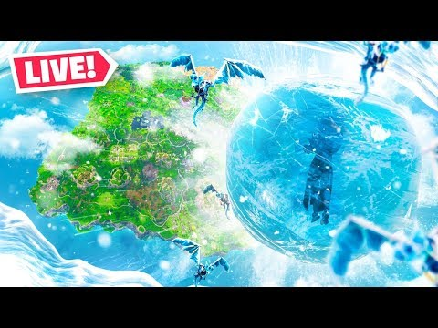 The Fortnite ICE STORM EVENT *LIVE*!