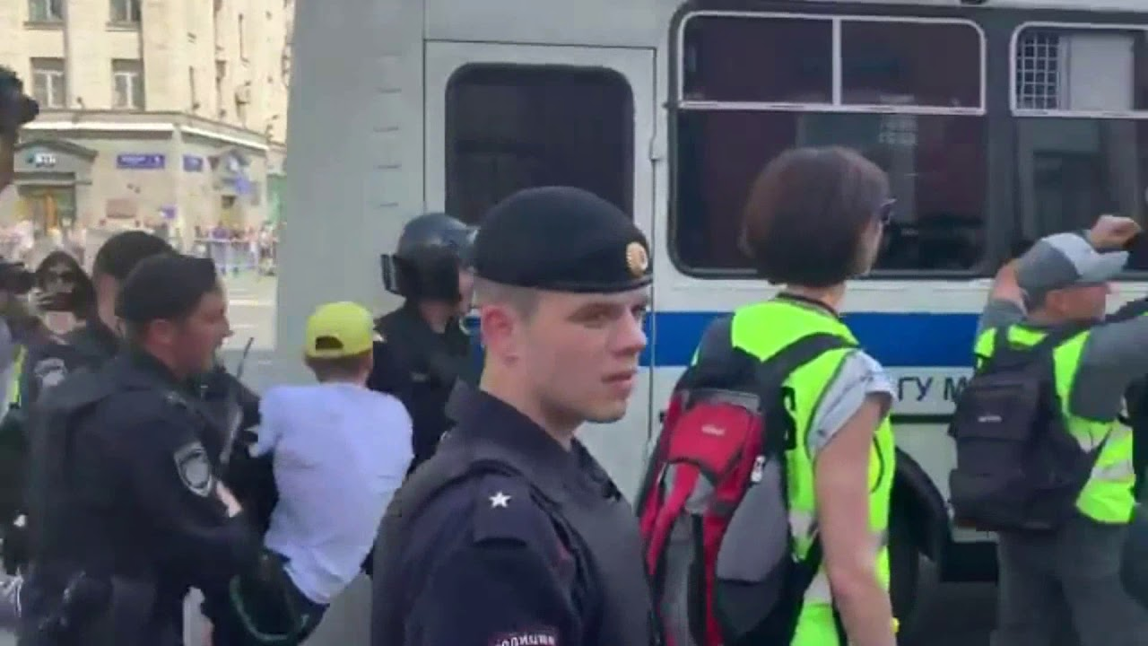 Москва 27 июля Акция