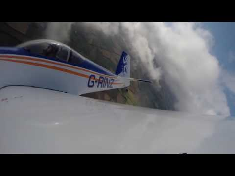 Полет на самолете RV с фигурами пилотажа