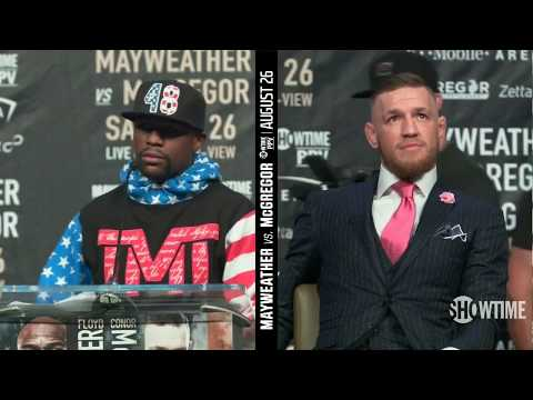 Floyd Mayweather vs Conor Mcgregor First Press Conference HD Full