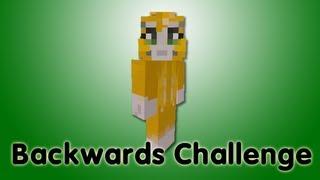 Minecraft Xbox - Backwards Challenge - Part 3