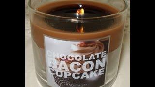 Bath And Body Works Slatkin Candle: Hall Of Shame- Chocolate Bacon Cupcake