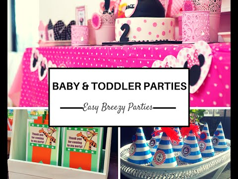 Baby Toddler Party Decoration
