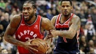 Toronto Raptors vs Washington Wizards NBA Full Highlights (14th January 2019)
