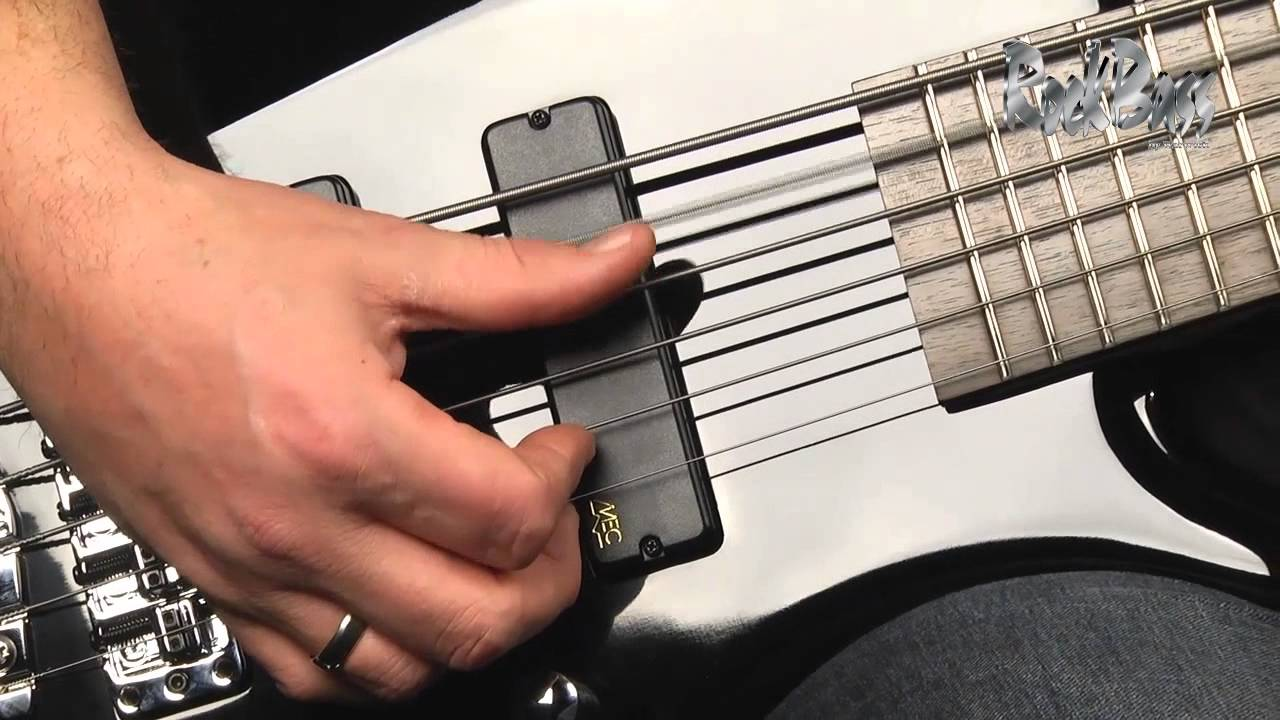 The Rockbass Corvette Basic 6 String With Andy Irvine