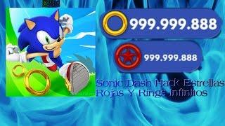 Sonic Dash Hack Estrellas Rojas Y Rings Infinitos 100% FUNCIONAL Y SEGURO
