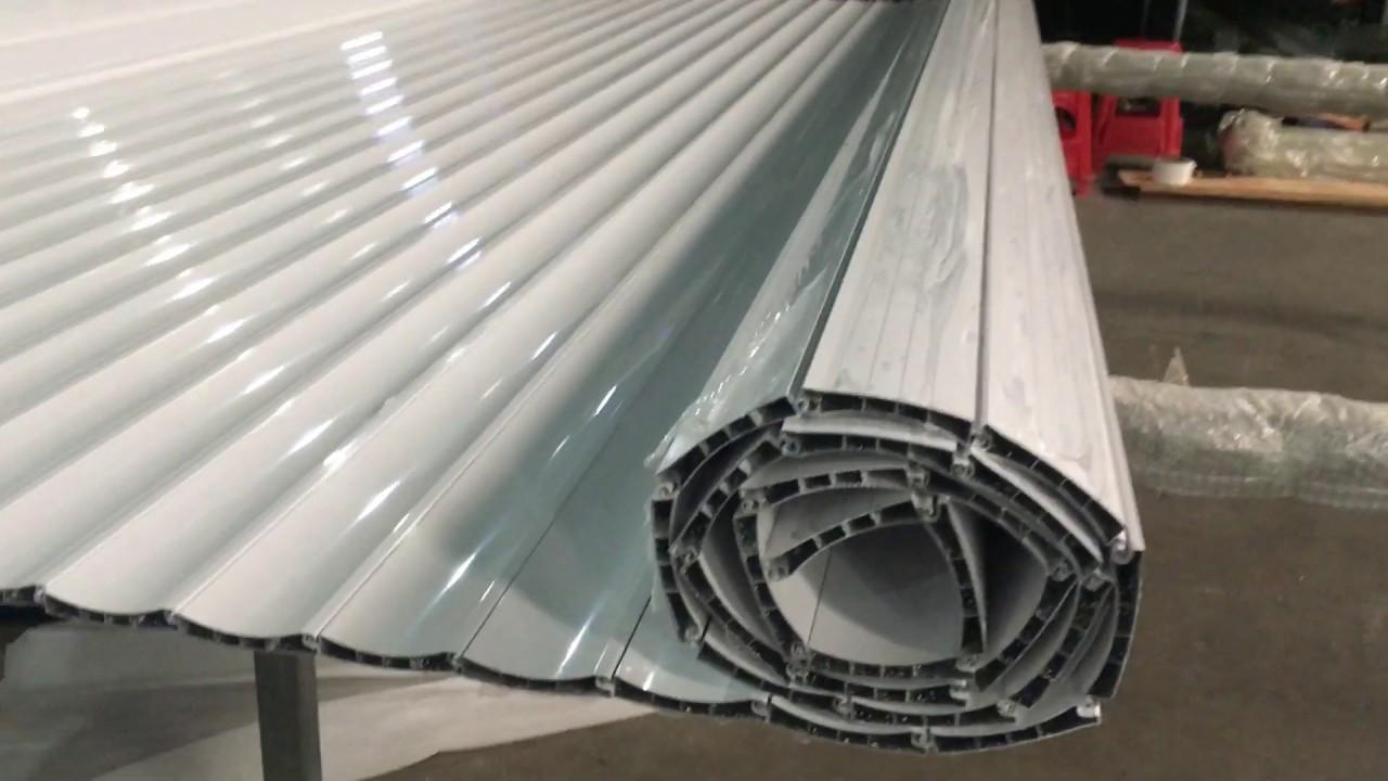 DIY custom made aluminum roller shutter door/rolling shutter door ...