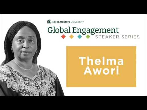 Global Engagement Speaker Series — Thelma Awori