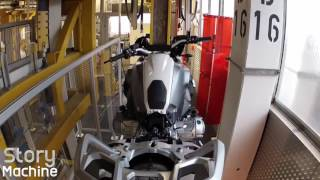BMW Motorcycle Assembly at Berlin Plant