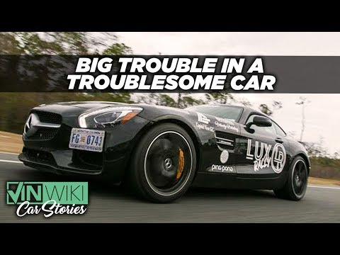 My unreliable AMG GTS ran well enough for me to get arrested