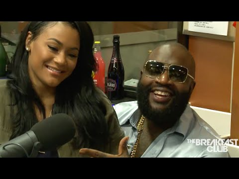 Rick Ross introduces his fiance Lia Galore & talks how he proposed