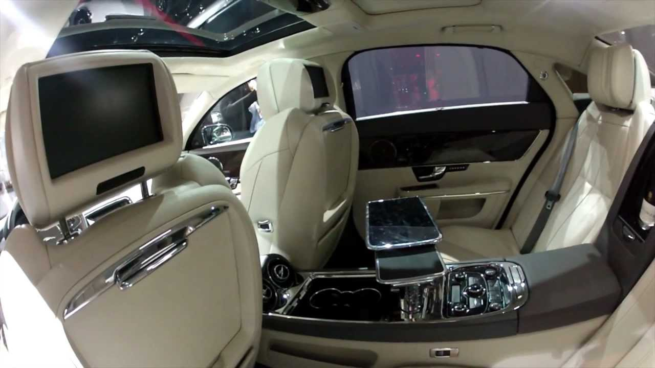 2013 Jaguar Xj Ultimate Interior Look   YouTube