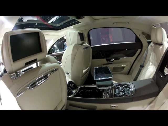2013 Jaguar Xj Ultimate Interior Look