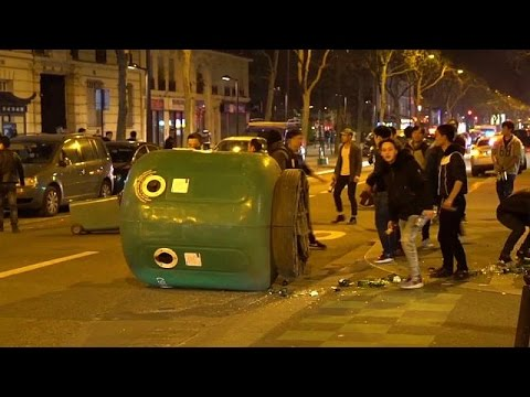 Riots in Paris after police shoot Chinese man dead