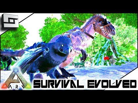 ARK: Survival Evolved - YUTYRANNUS AND TOXIC ARGY! E25 ( Modded Ark Eternal )