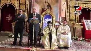 «فودة» يهنئ الأنبا «أبولو» والأقباط بعيد الميلاد المجيد في شرم الشيخ