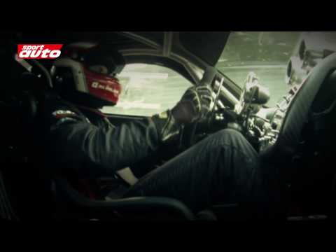 Pagani Zonda R beim Rundenrekord auf der Nürburgring-Nordschleife