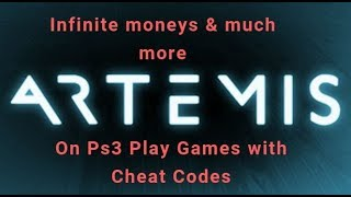 Artemis - PlayStation 3 - Hacking Games - Cheat Codes Activation (PS3)