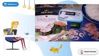 Роллы с рыбой и творожным сыром Рецепты в домашних условиях