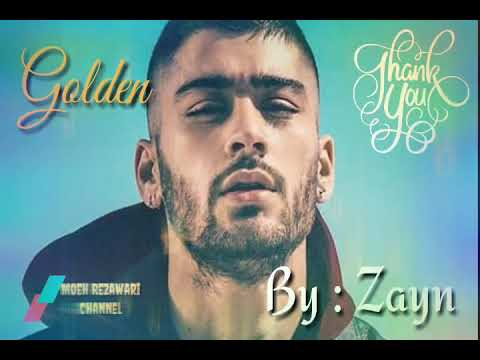 Golden - Zayn ( Lyric Video )