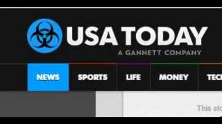 WTF! USA TODAY CHANGES LOGO TO BIOHAZARD SYMBOL?