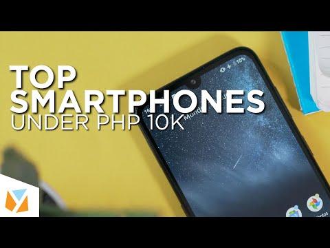 TOP Smartphones Under PHP10K (Late 2019)