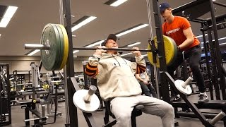 90 KG SHOULDER PRESSES FOR REPS