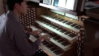 Бетховен Алілуя орган Джон Хун 2009 Нью-Йорк південна церква 4-ручний орган 20150702