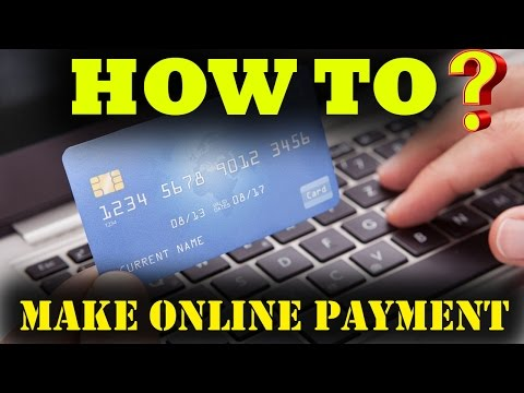 How To Make Online Payment