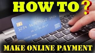 How To Make Online Payment | Debit Card / Credit Card / Net banking | India Hindi