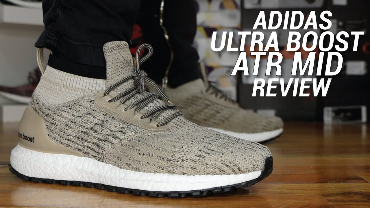 9e6b6f4ea77d2 ADIDAS ULTRA BOOST ATR MID REVIEW - YouTube