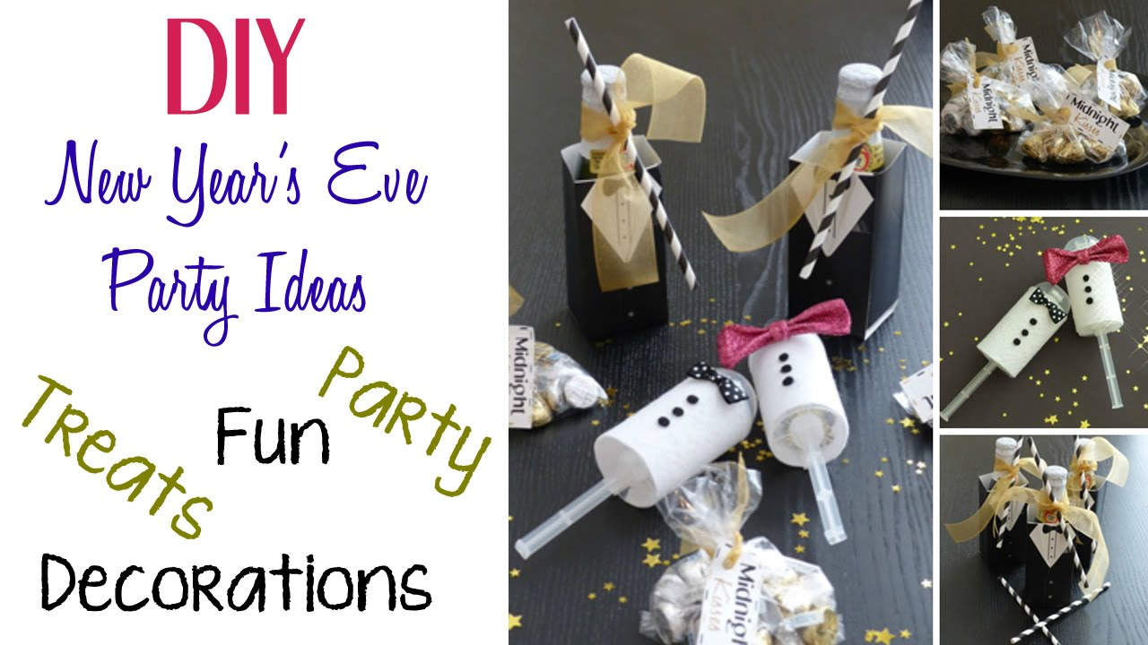 diy new year s eve party ideas youtube