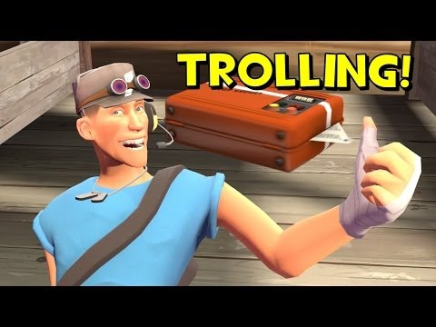 TF2 Public Trolling: Intelligence Spamming
