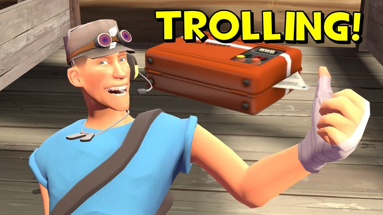 TF2 Public Trolling: Intelligence Spamming - YouTube