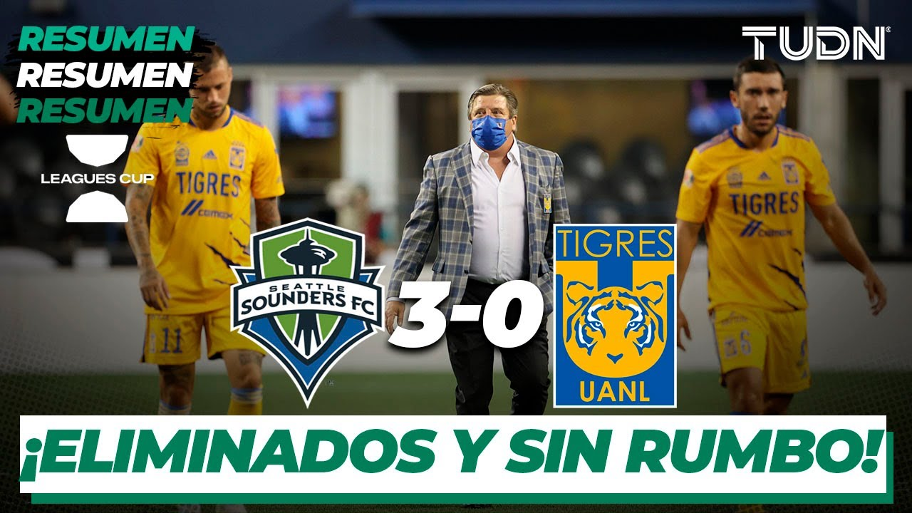 Goals And Highlights Seattle Sounders 3 0 Tigres Uanl In Leagues Cup 08 11 2021 Vavel Usa