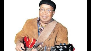 Papa Lolo singer, the late Mose Fan Fan during an interview with Jane Ngoiri