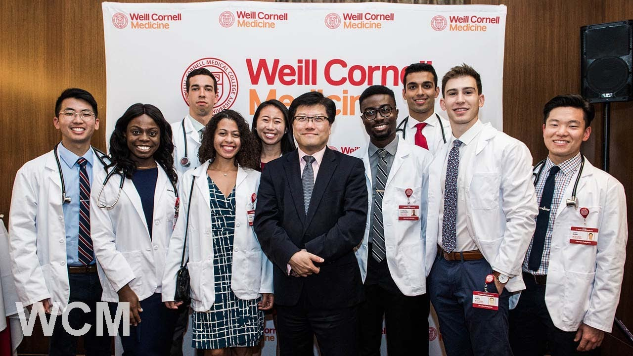White Coat Ceremony Marks First Step in Students' Medical