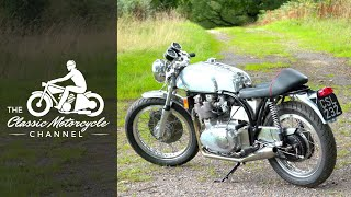 Classic Cafe Racer Build - NorBSA - Norton Frame / BSA Engine | The Classic Motorcycle Channel