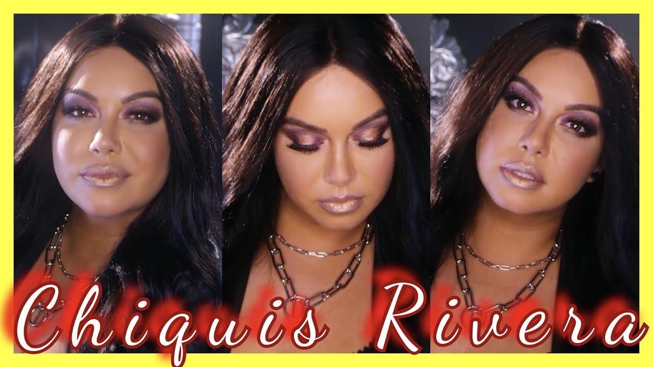 Chiquis Rivera Makeup Tutorial Jovany Romo Youtube