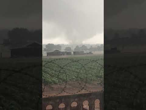 Large Tornado in Delmas Mpumalanga -9 October 2017