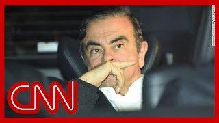 Ex-Nissan CEO Carlos Ghosn flees Japan