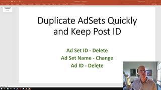 Facebook  Ads Duplicate Scaling AdSets Shortcut