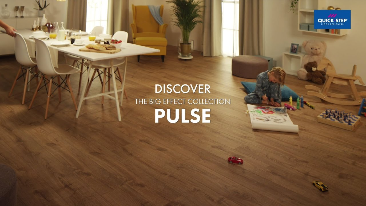 Quick Step Pulse Extra Long Wide Vinyl Flooring Boards