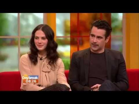 Colin Farrell & Jessica Brown Findlay    Daybreak