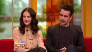 Video Colin Farrell & Jessica Brown Findlay Interview   Daybreak download MP3, 3GP, MP4, WEBM, AVI, FLV Desember 2017