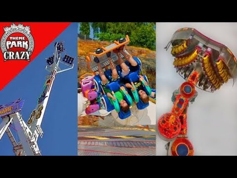 20 INSANE & Unique Carnival Rides