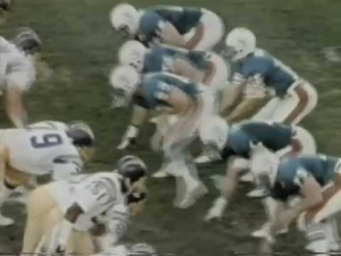 Epic In Miami  Chargers vs Dolphins 1981 Playoffs Highlights